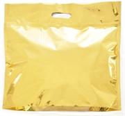 Picture of Embalagem de presente Sacola Laminada Dourada