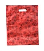 Picture of Embalagem de Presente Laminada Rosas Vermelhas