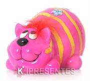 Picture of Cofre criativo gatinho pink deitado
