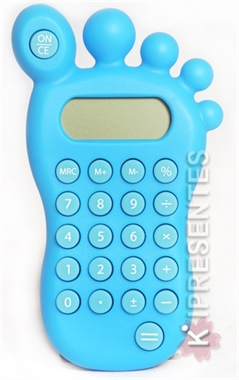 Picture of Calculadora Azul  Formato Pé