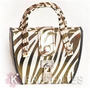 Picture of Kit Manicure bolsa listras douradas zebra