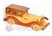 Picture of Carro Antigo Madeira Caramelo