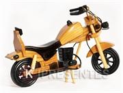 Picture of Moto Miniatura Madeira Banco Preto
