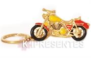 Picture of Chaveiro Moto Metal Dourado