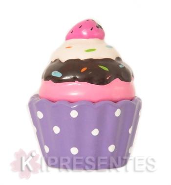 Picture of Cupcake Porcelana Lilás