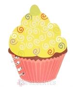 Picture of Bloco de Notas Cupcake Amarelo