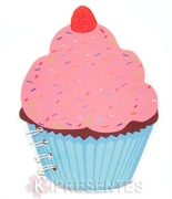 Picture of Bloco de Notas Cupcake Rosa