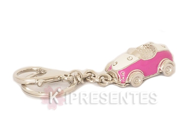 Picture of Chaveiro Carro Rosa Strass
