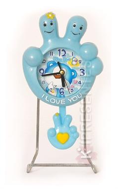Picture of Relógio de Mesa Infantil Mão Azul