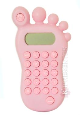 Picture of Calculadora Pezinho Rosa