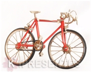 Picture of Bicicleta Vermelha de metal