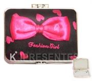 Picture of Espelho de Bolso Preto Pink