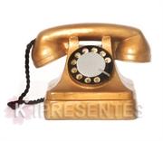 Picture of Telefone Retro Dourado