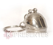 Picture of Chaveiro Capacete Metal Cromado
