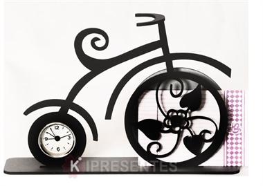 Picture of Relógio Bicicleta Clássica Flores