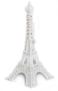 Picture of Mini Torre Eiffel Branca Strass