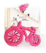 Picture of Porta Retrato Bicicleta Clássica Rosa