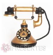 Picture of Telefone Antigo Clássico Dourado