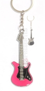 Picture of Chaveiro Guitarra Rosa