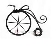 Picture of Bicicleta Clássica Relógio Flor