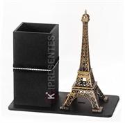 Picture of Porta Caneta Torre Eiffel Fita Preta