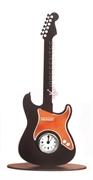 Picture of Guitarra Relógio Marrom Cobre