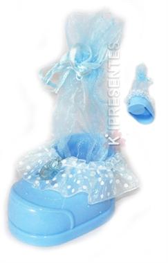 Picture of Sapatinho Azul Lembrancinha para Menino