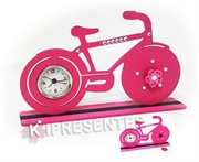 Picture of Bike Relógio Rosa Strass ima