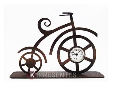 Picture of Relógio Decorativo Bicicleta Clássica Dourada