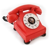 Picture of Cofre Telefone Vermelho Retro