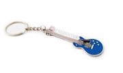 Picture of Chaveiro Metal Guitarra Azul