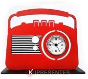 Picture of Relógio Rádio Retro Vermelho