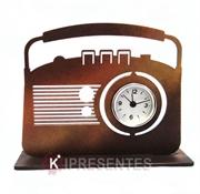 Picture of Relógio Rádio Retro Dourado