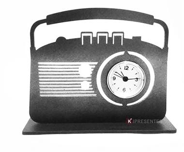 Picture of Relógio Rádio Antigo Prata