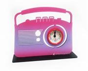 Picture of Relógio Rádio Antigo Rosa