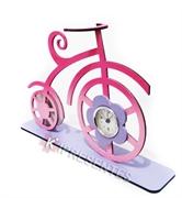 Picture of Relógio Bicicleta Classica Antiga Rosa