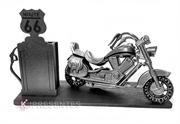 Picture of Porta Caneta Moto Antiga Mini Bomba Gasolina Rota 66