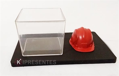 Picture of Porta Clipes Capacete de Obras Engenharia