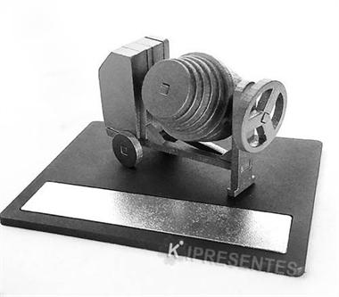 Picture of Betoneira Miniatura em Placa Personalizada