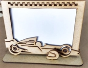 Picture of Porta Retrato Carro de Formula 1 Corrida Mdf