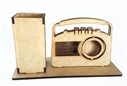 Picture of Porta Caneta Cartão Rádio Antigo Vintage mdf