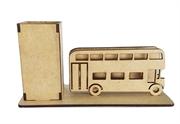 Picture of Porta Caneta cartão mdf ônibus inglês Miniatura