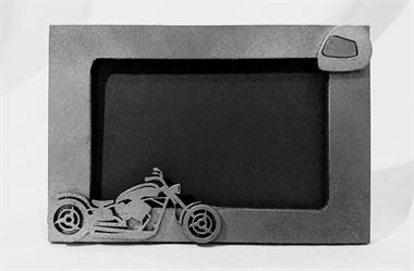 Picture of Porta Retrato Moto Antiga Mdf