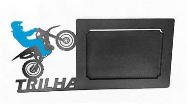 Picture of Porta Retrato Motocross Azul