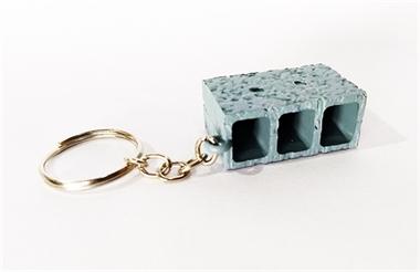 Picture of Chaveiro Tijolo Bloco Concreto Miniatura