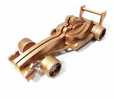 Picture of Carro de Formula 1 um Dourado