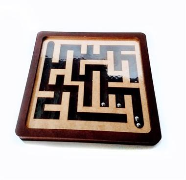 Picture of Jogo labirinto em mdf